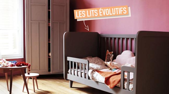 Les lits bébé évolutifs