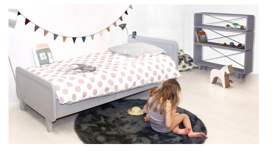 laurette tout le mobilier enfant contemporain vert On marque mobilier enfant