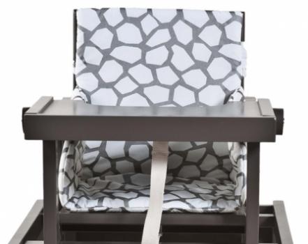 coussin pour chaise haute cubic quax file dans ta chambre. Black Bedroom Furniture Sets. Home Design Ideas