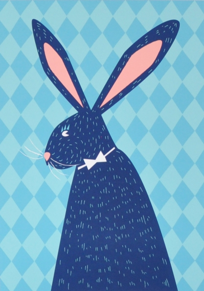 Affiche Ludo le lapin