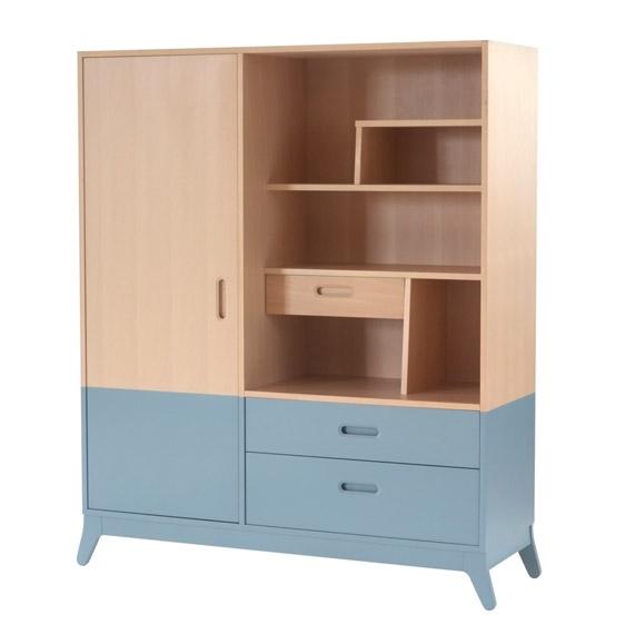 armoire horizon nobodinoz file dans ta chambre. Black Bedroom Furniture Sets. Home Design Ideas
