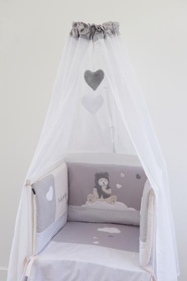 Bed set 4 pièces Capuchon 60x120 et 70x140cm