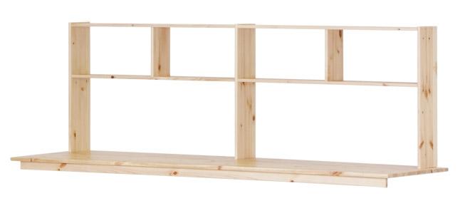 bureau pour lit mezzanine basic trendy flexa file dans ta chambre. Black Bedroom Furniture Sets. Home Design Ideas