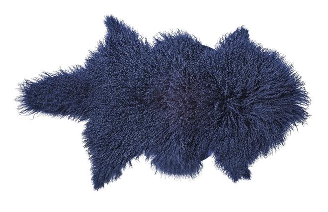 Tapis Peau d'agneau Mongolie
