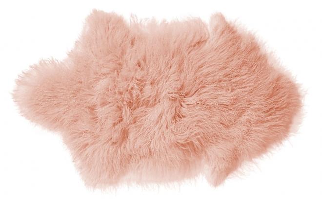 tapis peau d 39 agneau mongolie bloomingville file dans