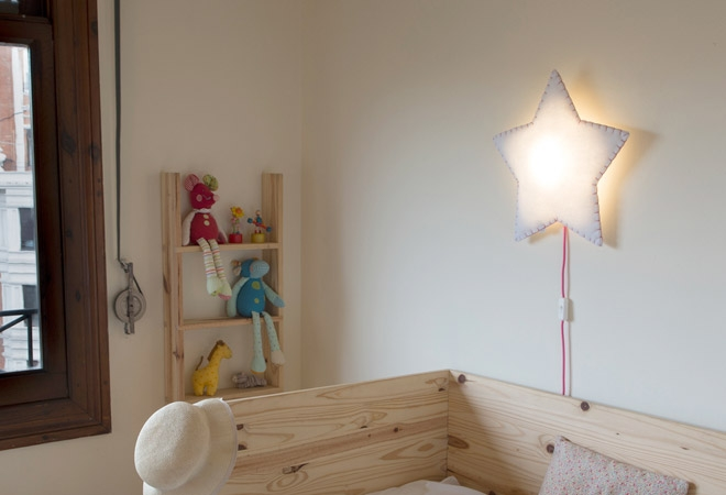 applique murale pour chambre lampe poser la petite fille. Black Bedroom Furniture Sets. Home Design Ideas