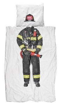 Parure de lit 140x200 Pompier