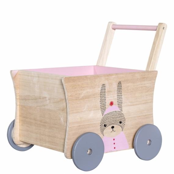 Coffre à jouets Wagon