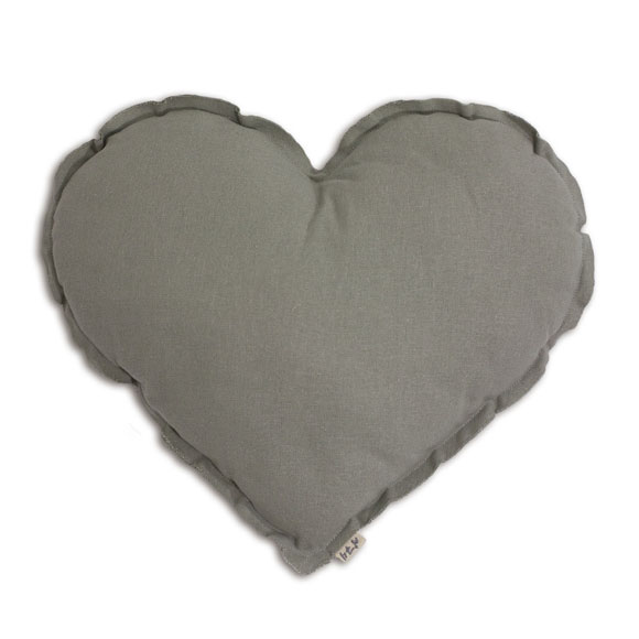 Coussin Coeur M Pastel