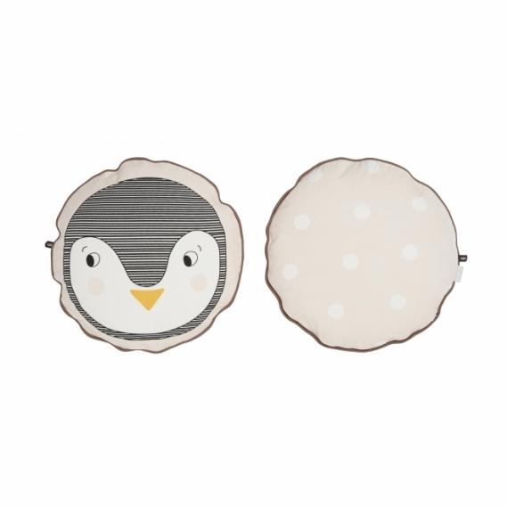 Coussin Penguin 38cm