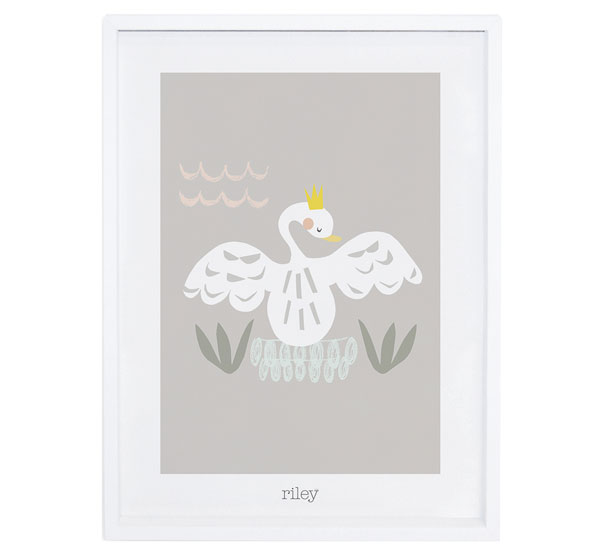 Affiche encadrée My Lovely Swan