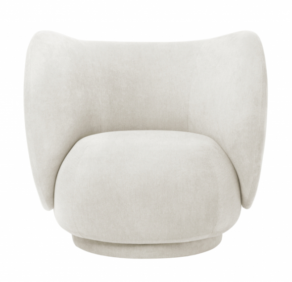 Fauteuil Rico Lounge Brushed