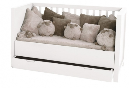 Lit b b volutif quarr avec tiroir lit - Lit evolutif avec tiroir ...