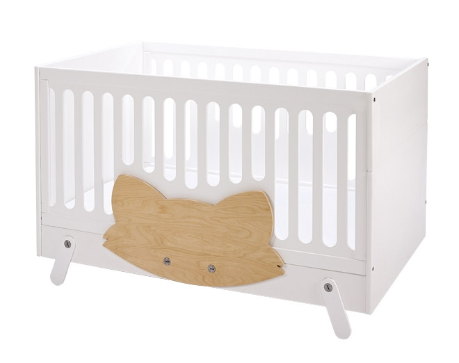 lit b b volutif fox 70x140 lil 39 gaea file dans ta chambre. Black Bedroom Furniture Sets. Home Design Ideas