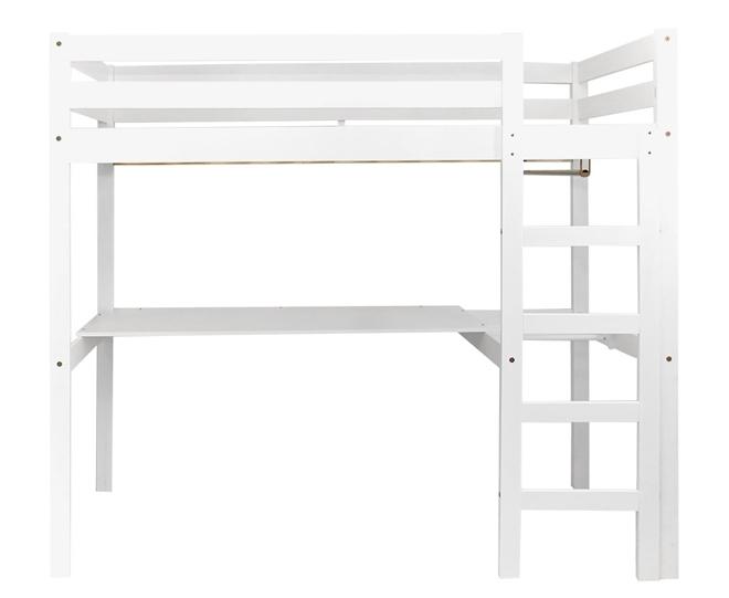 Lit mezzanine stripy avec bureau file dans ta chambre - Lit mezzanine enfant bureau ...