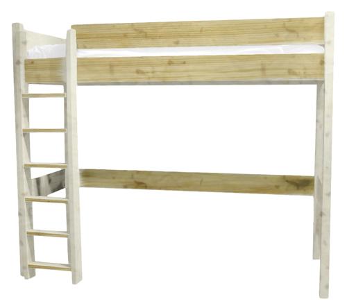lit mezzanine new classics lit sur lev en bois massif 1 2. Black Bedroom Furniture Sets. Home Design Ideas