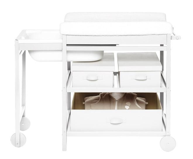 Meuble de bain + étagères  Quax  Milk clair  File Dans Ta Chambre