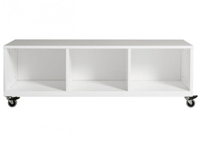 meuble bas roulettes mix match 3 compartiments bopita file dans ta chambre. Black Bedroom Furniture Sets. Home Design Ideas