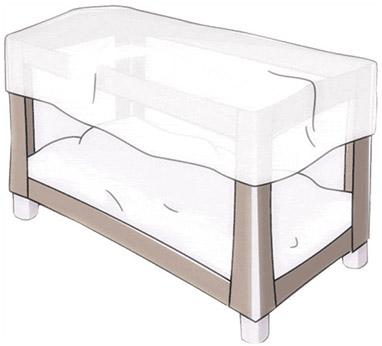 moustiquaire pour lit parapluie quax file dans ta chambre. Black Bedroom Furniture Sets. Home Design Ideas