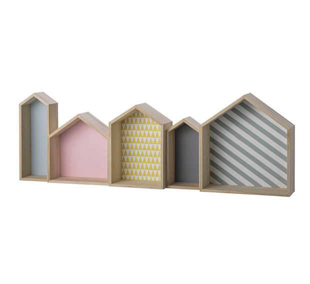 Niches Sweet Houses Pastel