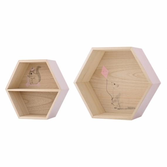 Niche Sweet Hexagonal - Lot de 2
