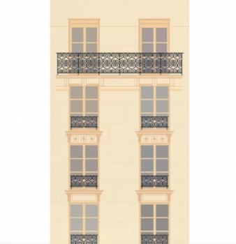b timent brique papier peint paris. Black Bedroom Furniture Sets. Home Design Ideas