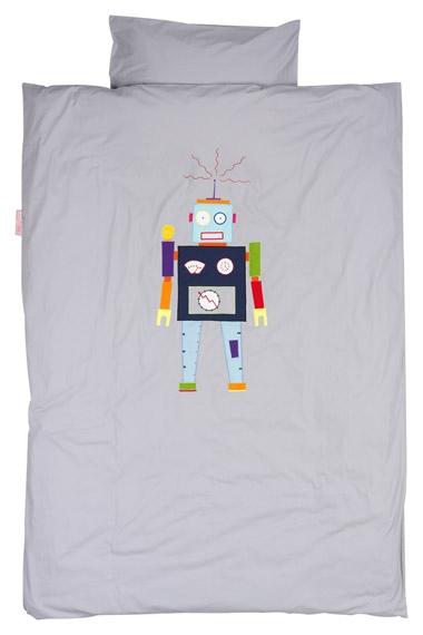 Parure de lit 140x200 Gentil Robot