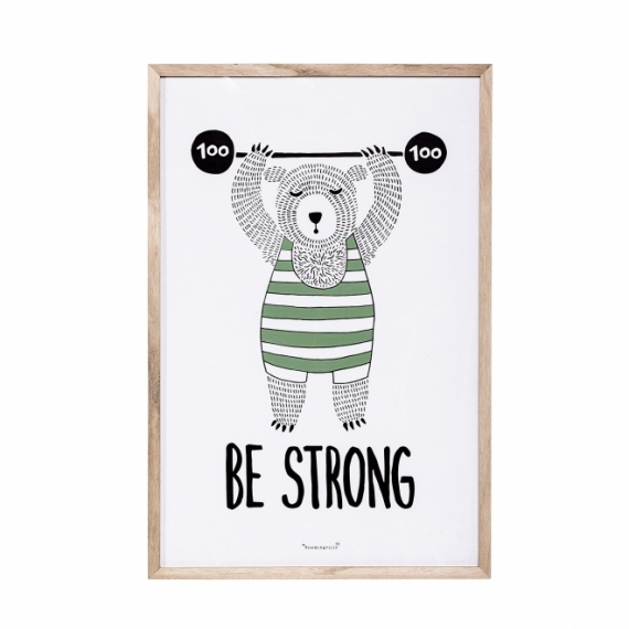 Tableau Be Strong