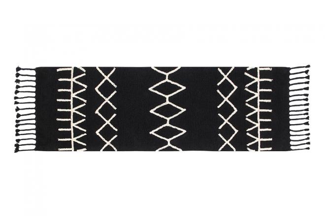 Tapis Bereber Noir 80x230