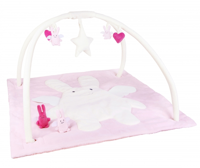 tapis d 39 eveil musical carr ange lapin trousselier file dans ta chambre. Black Bedroom Furniture Sets. Home Design Ideas