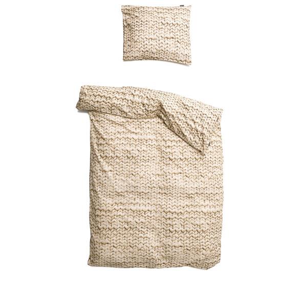 parure de lit 140x200 twirre snurk beige file dans ta chambre. Black Bedroom Furniture Sets. Home Design Ideas
