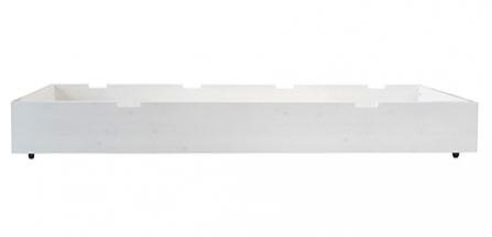 Tiroir lit basic wood 90x200 bopita file dans ta chambre - Tiroir de rangement sous lit ...