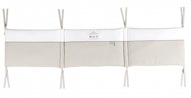 Tour de lit Mon petit manège 60x120 et 70x140cm