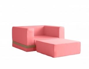 Fauteuil Enfant Brooklyn - Indina Pink