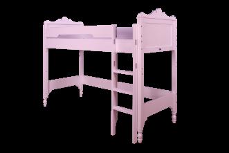 lit mezzanine rose violet file dans ta chambre. Black Bedroom Furniture Sets. Home Design Ideas