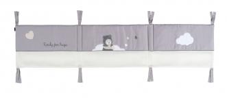 tour de lit pour lit b b file dans ta chambre. Black Bedroom Furniture Sets. Home Design Ideas