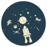 Sticker Phosphorescent Space Kit