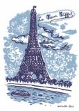Sticker La Tour Eiffel 25x35